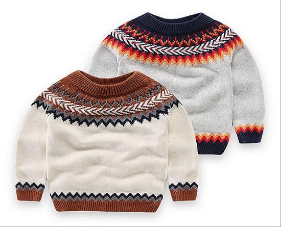 صادرات لباس بچه گانه بافتنی