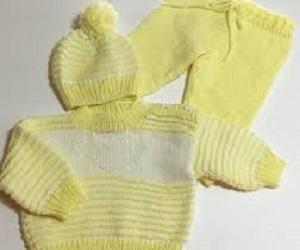 فروش لباس بافت نوزادی