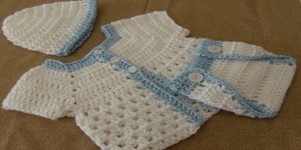 تولید لباس بافتنی دستبافت نوزادی