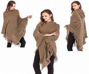 شنل بافتنی زنانه