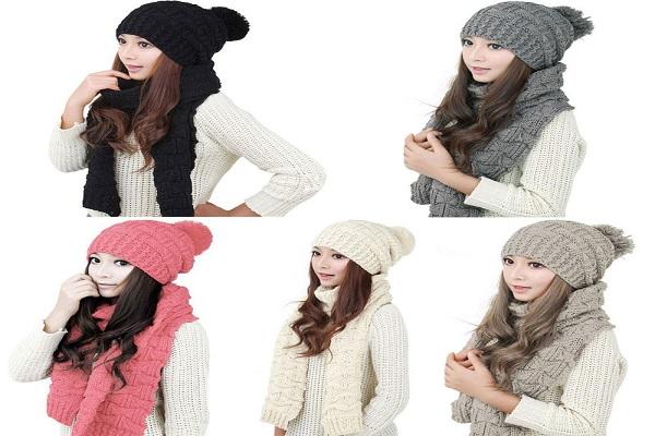 مرکز خرید ست کلاه و شال گردن زنانه